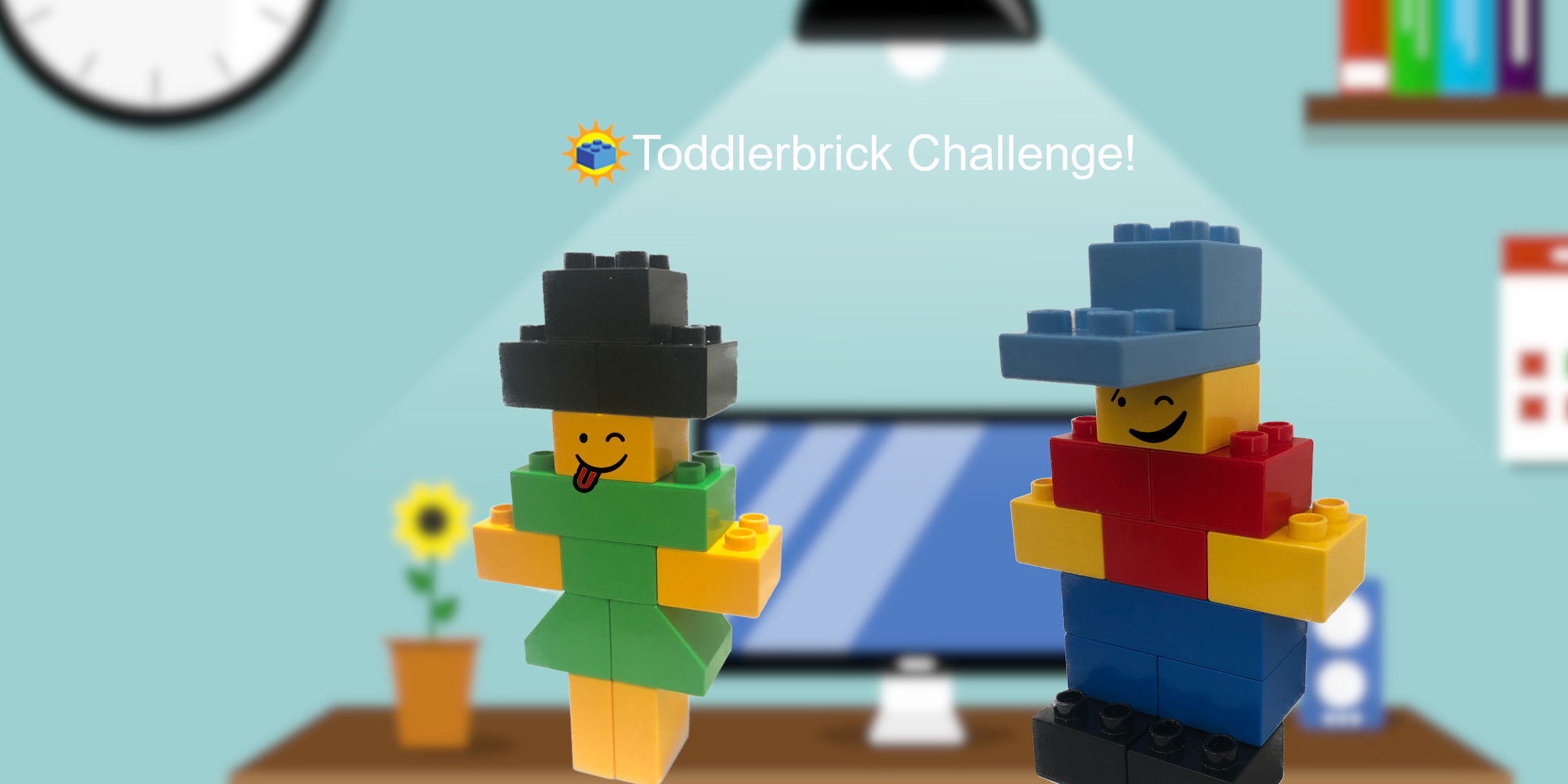 Toddlerbrick 2 Way Challenge